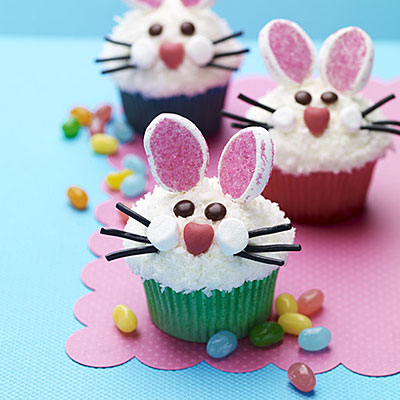 easter bunny face cupcakes food cupcakes bunny easter bunny HH0SgBXE