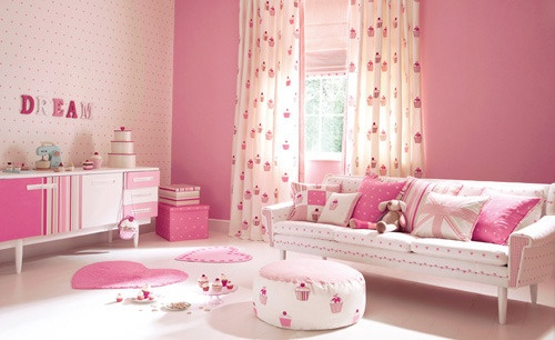 Beautiful Pink Baby Girl Cupcake Decor Room - Cupcakepedia