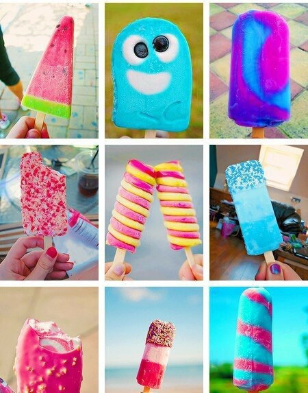 awesome colourful ice popsicles for summer cupcakepedia