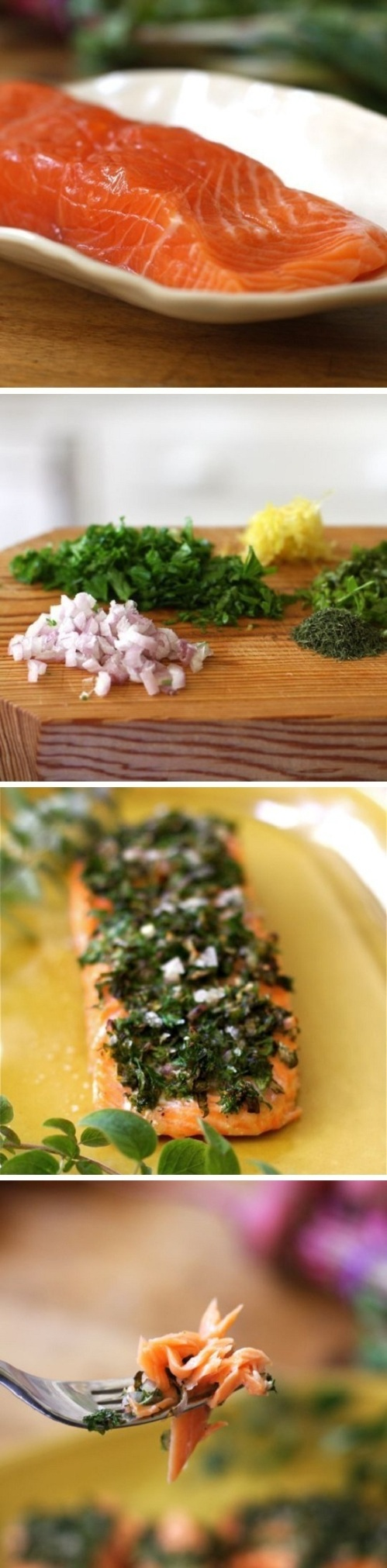 Herb Oven Baked Salmon Recipe By Cupcakepedia, salmon, oven baked salmon, herb, fresh seafood