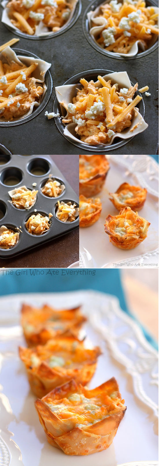 Mini Buffalo chicken cupcakes recipes by cupcakepedia, cupcakes ...