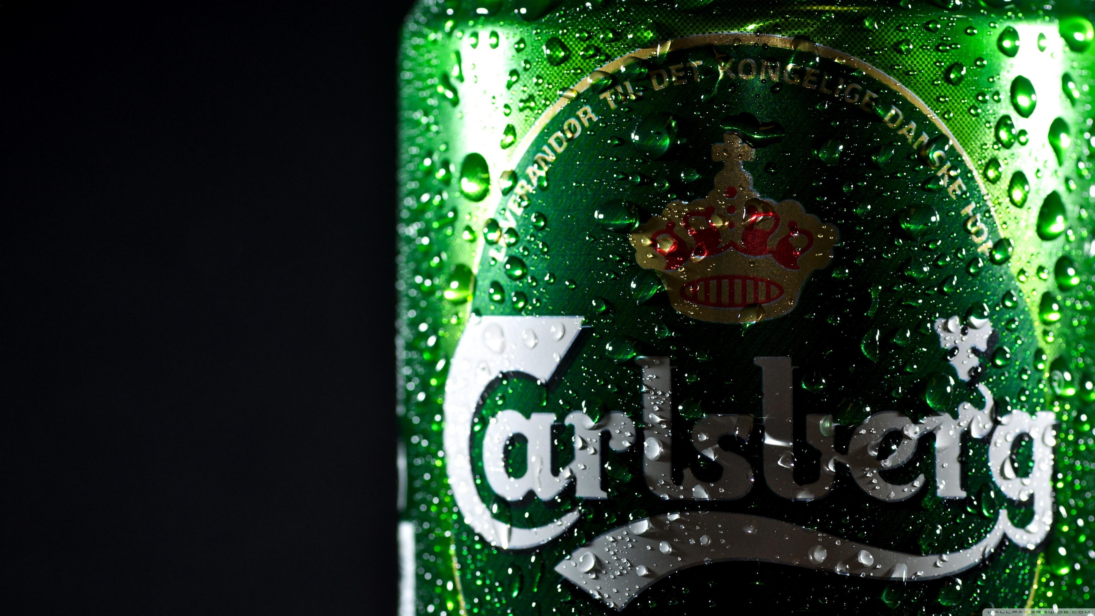 carlsberg beer hd wallpaper 3840 2160 cupcakepedia