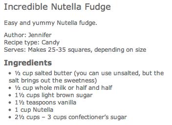 Incredible Nutella Fudge Recipe by cupcakepedia, nutella fudge recipe, nutella fudge, how to make nutella fudge, nutella fudge recipe instructions, the best nutella fudge recipe
