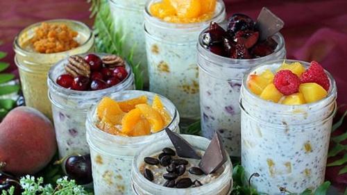 Refrigerator Oatmeal Cupcaketini recipe by Cupcakepedia, oatmeal, cupcaketini, cupcakepedia, breakfast, summer 2013